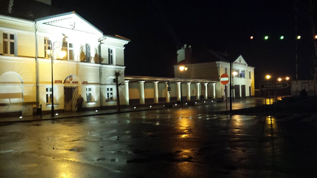 Wykonane oświetlenia budynków gminy Przedecz