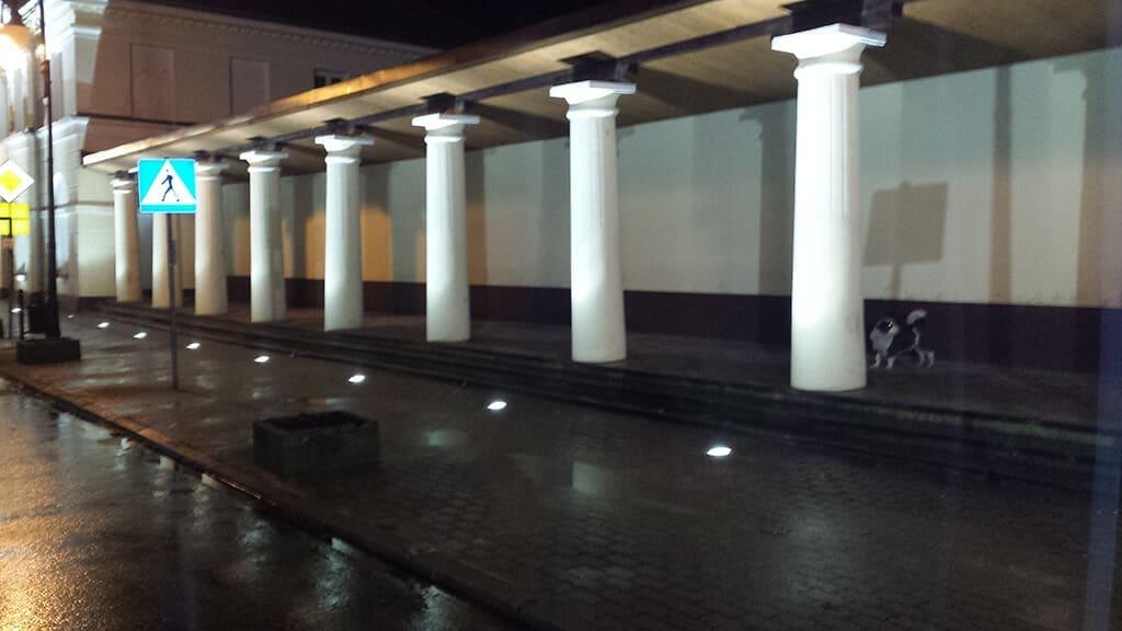 Wykonanie oświetlenia budynków gminy Przedecz